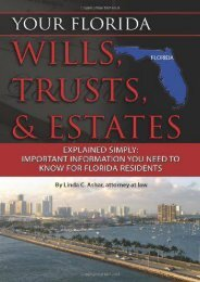 Read PDF Your Florida Wills, Trusts,   Estates Explained Simply: Important Information You Need to Know for Florida Residents (Back-To-Basics) -  For Ipad - By Linda C Ashar
