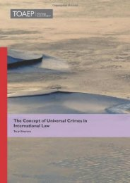 Full Download The Concept of Universal Crimes in International Law -  Best book - By Terje Einarsen