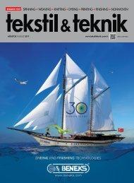 Tekstil Teknik Dergisi Ağustos 2017 Sayısı