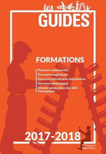 Les Guides du SGV - Formations 2017-2018