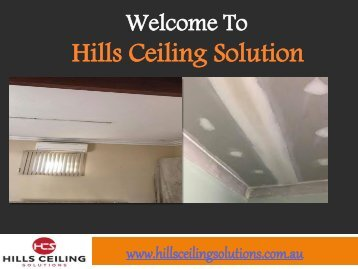 Water Damaged Ceilings in Western Australia
