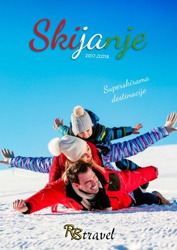 RB TRAVEL - SKIJANJE KATALOG 2017.-2018.