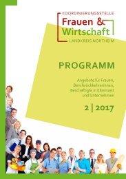 Fort - und Weiterbidlungsprogramm 2/2017