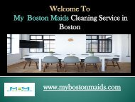 House Cleaning Service in Boston