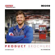 Product Brochure August 2017