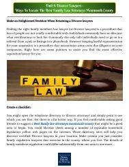 Find A Divorce Lawyers - Ways To Locate The Best Family Law Attorneys Monmouth County