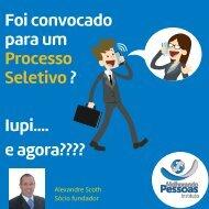Ebook -  OS 12 PASSOS PARA SUCESSO NAS SELEÇÕES