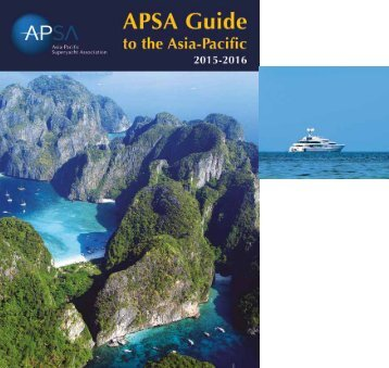 APSA Guide to the Asia Pacific 2015-2016