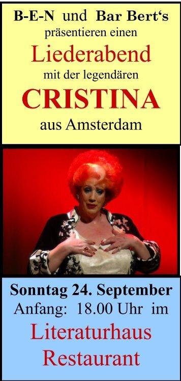 Cristina Flyer