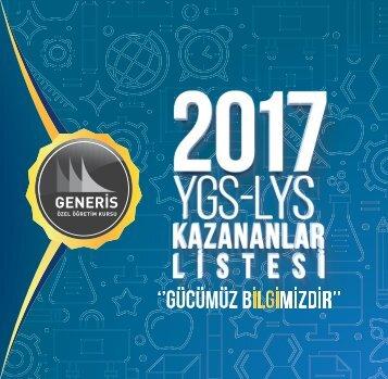 2017 ÖSYS Kazananlar