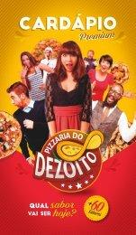 Cardápio Premium - Pizzaria do Dezoito