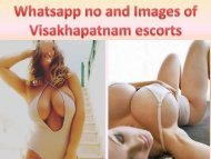 Whatsapp no and Images of best Visakhapatnam escorts