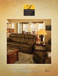 2017 Lambright Comfort Chair Catalog