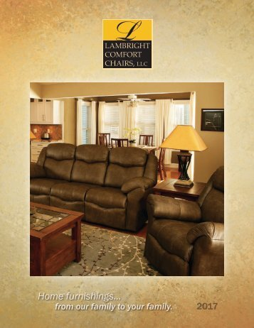 2017 Lambright Comfort Chair Catalog