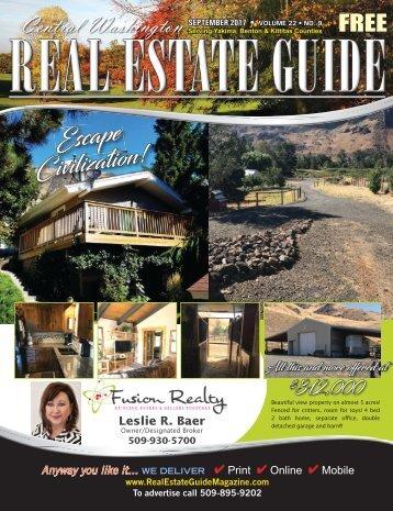 Central Washington Real Estate Guide Sept 17