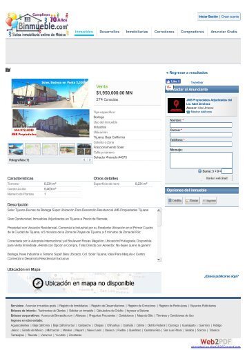 www-binmueble-com venta de casas