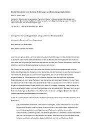 Direkte Demokratie in der Schweiz: Erfahrungen und - Wolf Linder