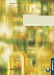 Company profile 2006 (3.3 MB) - Uhde GmbH