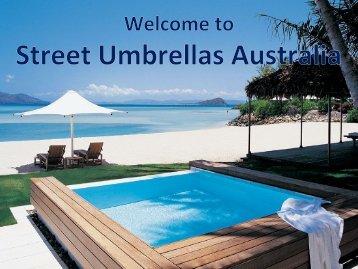 Discover Tensile Membrane Structures at Street Umbrellas Australia
