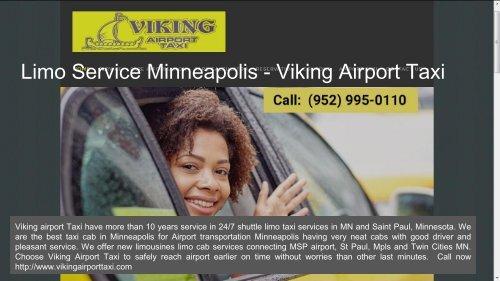 Airport Taxi Cab Minneapolis  MSP Transportation Service - Viking Airport Taxi