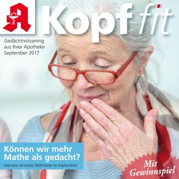 "Leseprobe ""Kopf-fit"" September 2017"