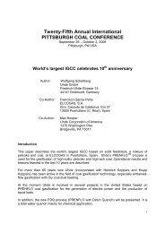 Twenty-Fifth Annual International PITTSBURGH ... - Uhde GmbH