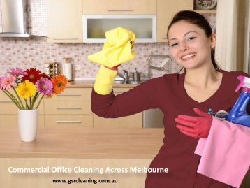 Commercial Office Cleaning Across Melbourne