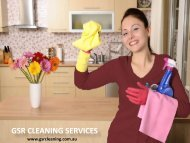 GSR CLEANING SERVICES