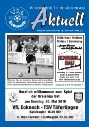Wittelsbacher- Apotheke - VfL Ecknach