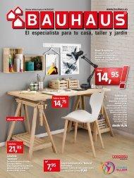 Catálogo BAUHAUS hasta 14 de Septiembre 2017