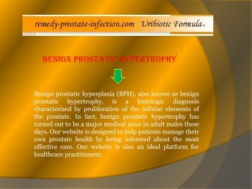 Prostate infection herbal treatment
