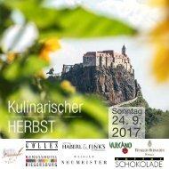 Kulinarischer Herbst 2017_24. September