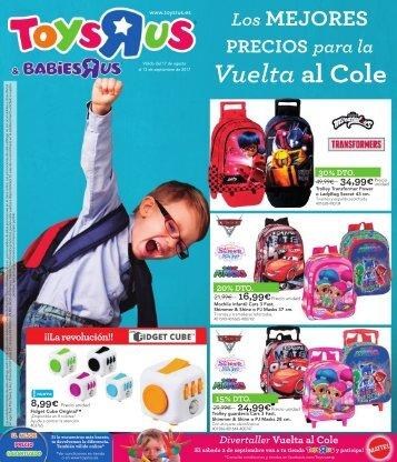 Catálogo TOYSRUS Vuelta al cole 2017