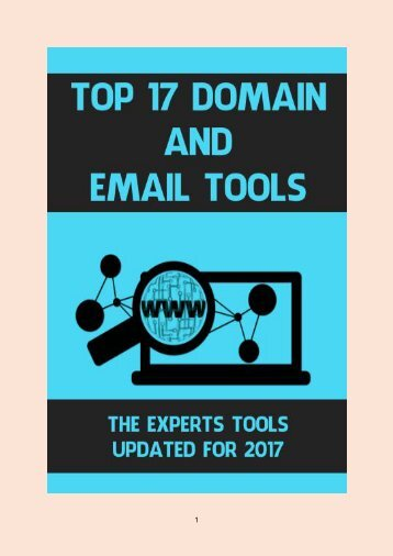 Top 17 Domain and Email Tools