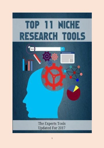 Top 11 Niche Research Tools