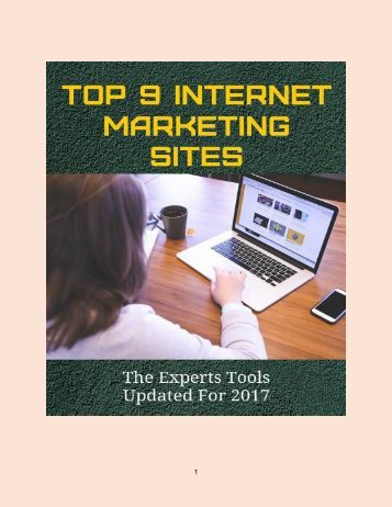 Top 9 Internet Marketing Sites