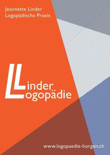 Jeannette Linder Logopädische Praxis www.logopaedie-horgen.ch