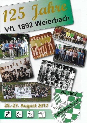 125 Jahre VFL Weierbach