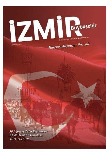 İzmir Büyükşehir Dergisi Ağustos Sayısı