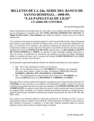 LAS PAPELETAS DE LILIS - CUADRO CON COMBINACIONES DE FIRMAS
