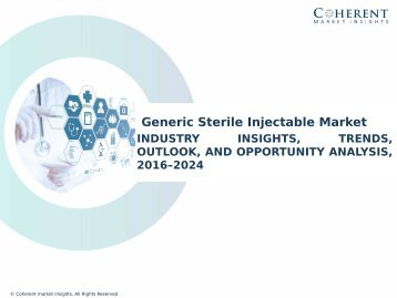 Generic Sterile Injectable Market