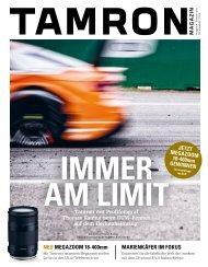 Tamron Magazin Ausgabe 4 Sommer 2017