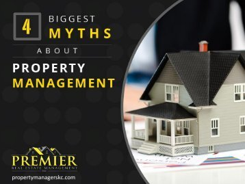 4 Myths about Property Management Services Busted