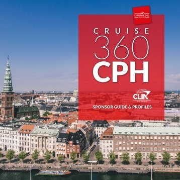 CLIA Cruise360 Copenhagen Digital Sponsor Guide
