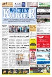 Wochen-Kurier 34/2017 - Lokalzeitung für Weiterstadt und Büttelborn