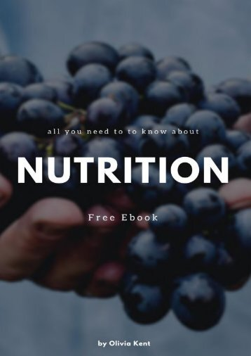 Nutrition Free Ebook