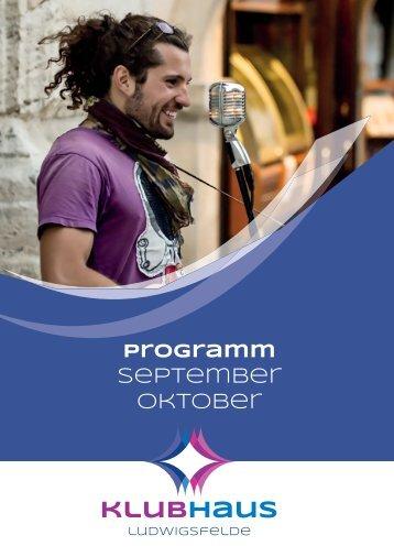 Klubhaus-Programm Oktober