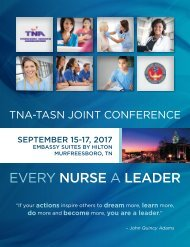 2017 TNA–TASN Joint Conference