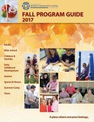 2017 Fall Program Guide
