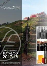 Kellerei-Technik Katalog 2017 / 2018